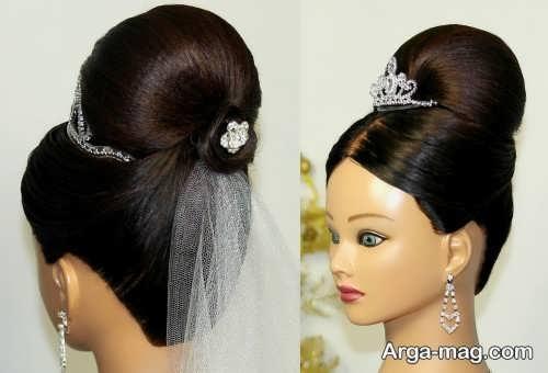 مدل مو بسته عروس با زیباترین متدها