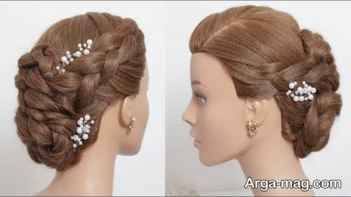 مدل مو بسته و زیبا برای عروس