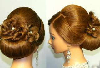 مدل مو بسته عروس