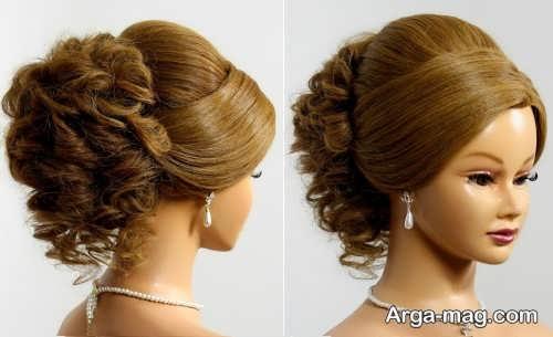 مدل موی زیبا و خاص عروس