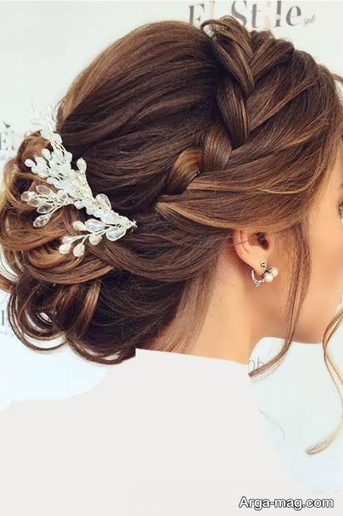 مدل موی شیک و زیبا عروس