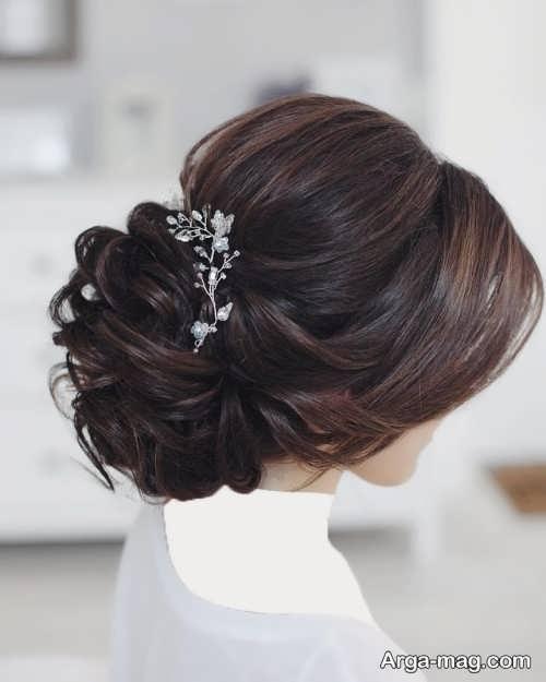 مدل مو بسته عروس جدید