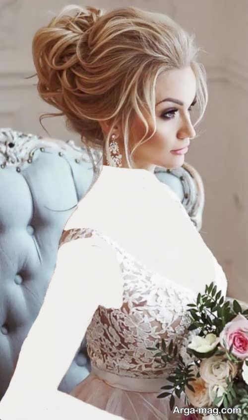 مدل موی شیک و بسته عروس