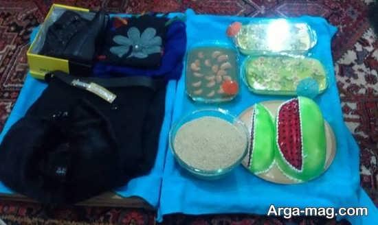 تزیین مخصوص شب یلدا به همراه کادو
