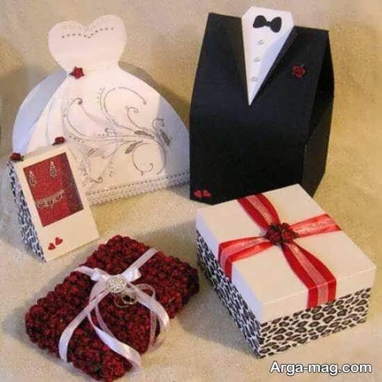 تزیین کادو عروس و داماد ویژه شب یلدا