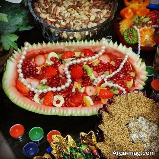 تزیین و میوه آرایی ویژه شب یلدا