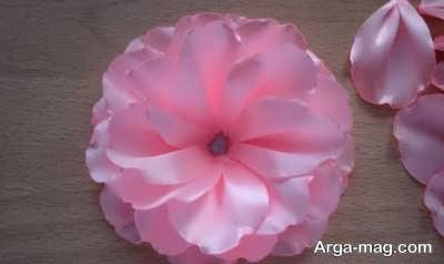 گلسازی با پارچه ساتن