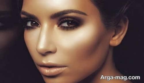 آرایش صورت سبزه با جذابیت منحصر به فرد