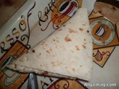 طرز تهیه نان سمبوسه مرغ
