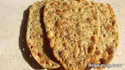 مراحل تهیه نان سنگک