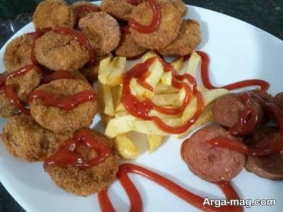 دستور پخت سوسیس سوخاری