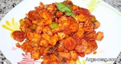 دستور پخت سوسیس بندری