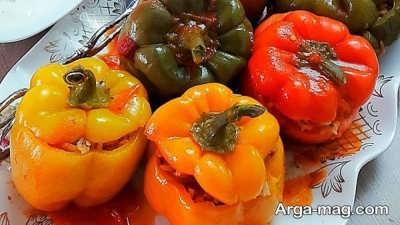 روش پخت دلمه سبزیجات
