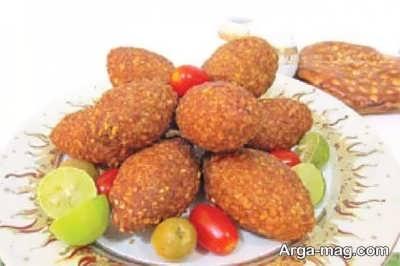 کوفته لبنانی خوشمزه و خوش طعم