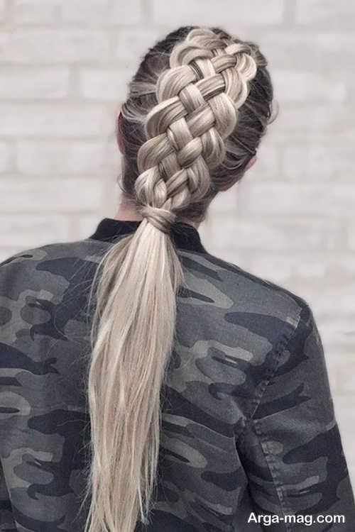 مدل بافت موی پشت سر