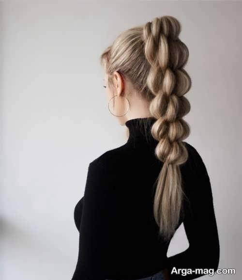 انواع بافت موهای بلند