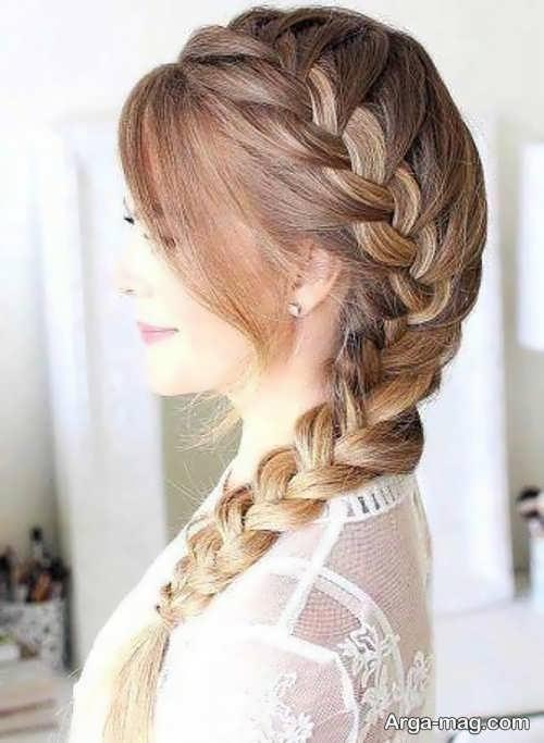 بافتن جذاب موی بلند