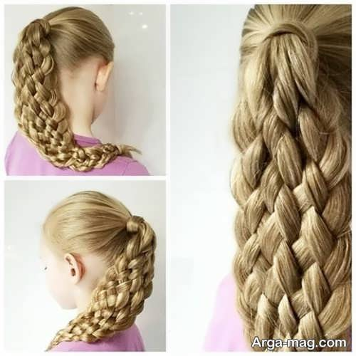 بافتن موی بلند