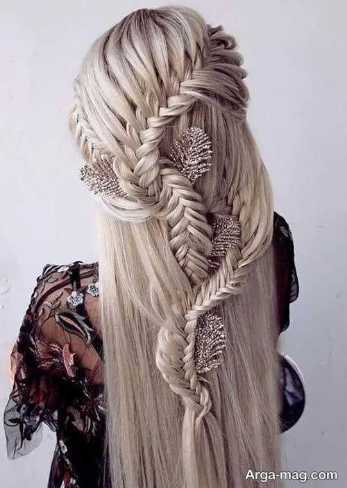 بافتی مجلسی از موی بلند