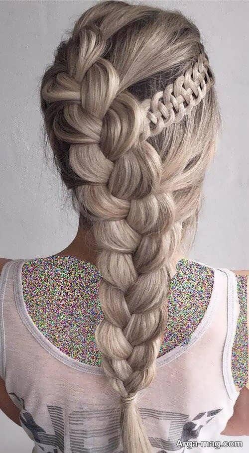 تصاویر بافت موهای بلند