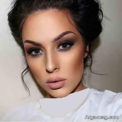 مدل آرایش صورت زنانه مجلسی