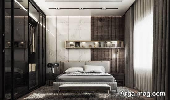 دکور زیبای اتاق خواب مستر