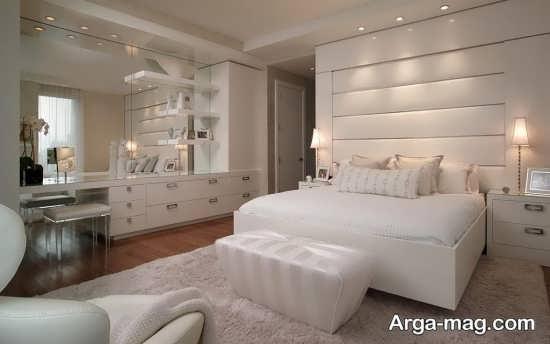 دکور زیبا و مدرن اتاق خواب مستر