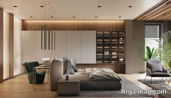 انواع طراحی و چیدمان اتاق خواب مستر