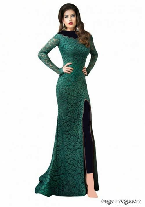 مدل ماکسی گیپور شیک و زیبا