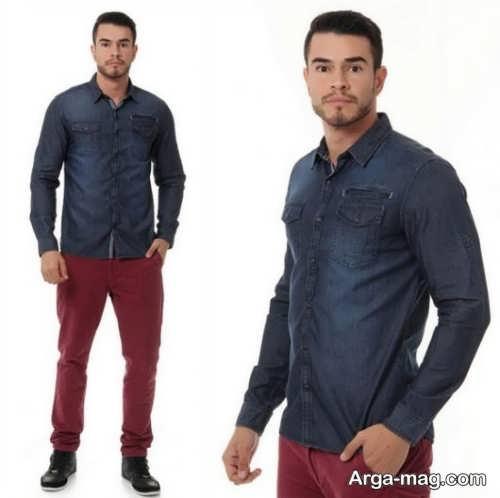 مدل پیراهن و شلوار اسپرت مردانه