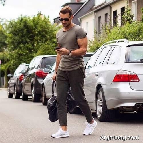مدل تیشرت و شلوار اسپرت مردانه