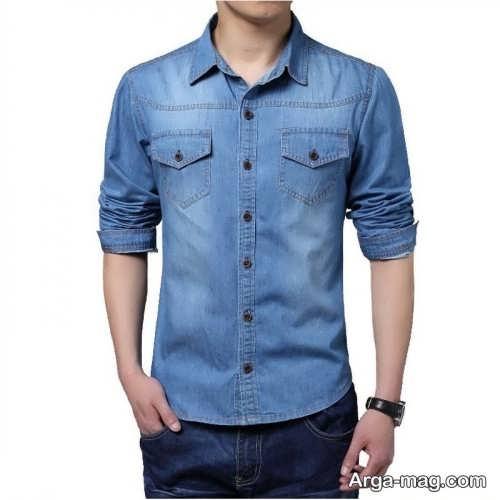 مدل پیراهن اسپرت و شیک مردانه