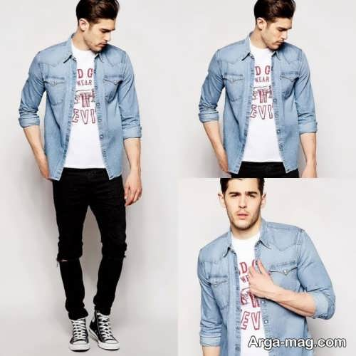 مدل لباس اسپرت شیک مردانه