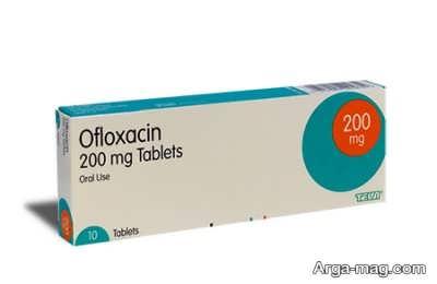 توصیه های دارویی افلوکساسین