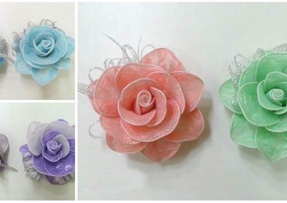 آموزش گلسازی با پلاستیک