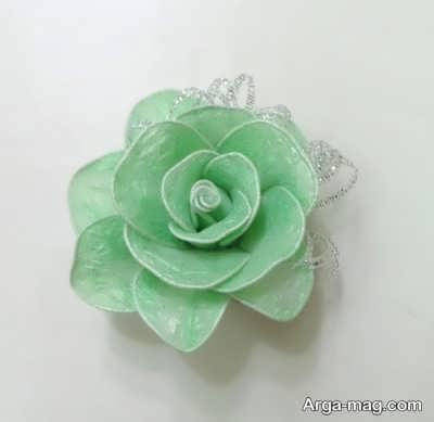 مدل گل پلاستیکی سبز