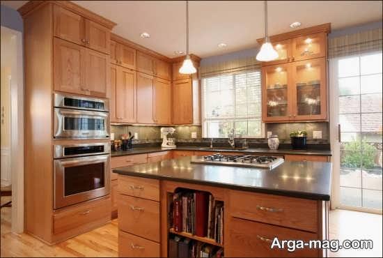 چیدمان آشپزخانه به سبک سنتی