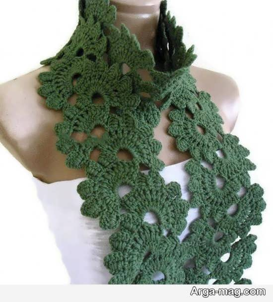 مدل شال گردن طرح دار و زیبا