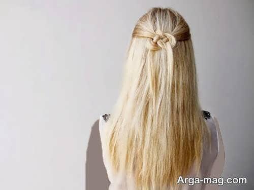 مدل موی ساده دخترانه برای عروسی