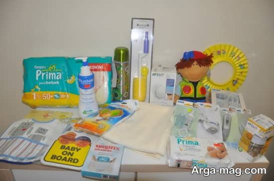 سرویس بهداشتی برای نوزاد
