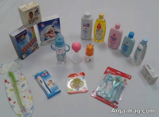 وسایل بهداشتی برای نوزاد
