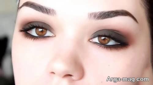 مدل آرایش چشم شیک و زیبا