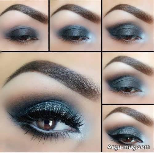 آموزش آرایش چشم دودی زیبا و جذاب