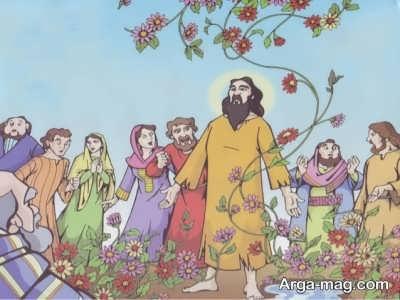 داستان گلستان شدن آتش برای حضرت ابراهیم