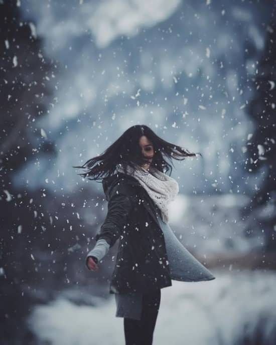 عکسهای زمستانی لاکچری برای پروفایل