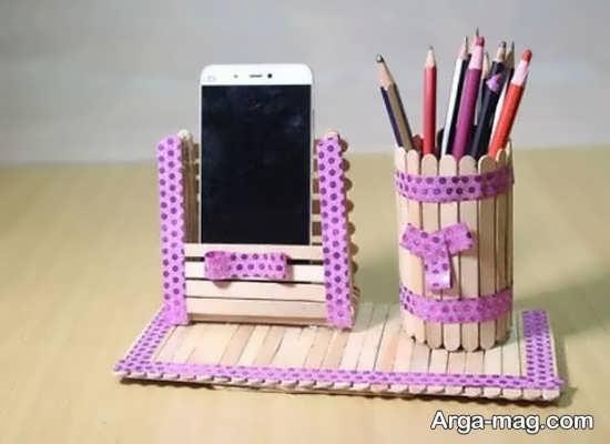 مدل هنردستی چوبی