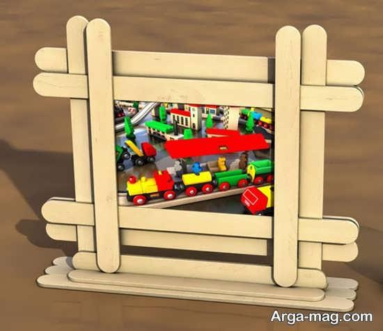 عکس کاردستی چوبی