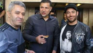 عکی جدید علی دایی و محمدرضا گلزار