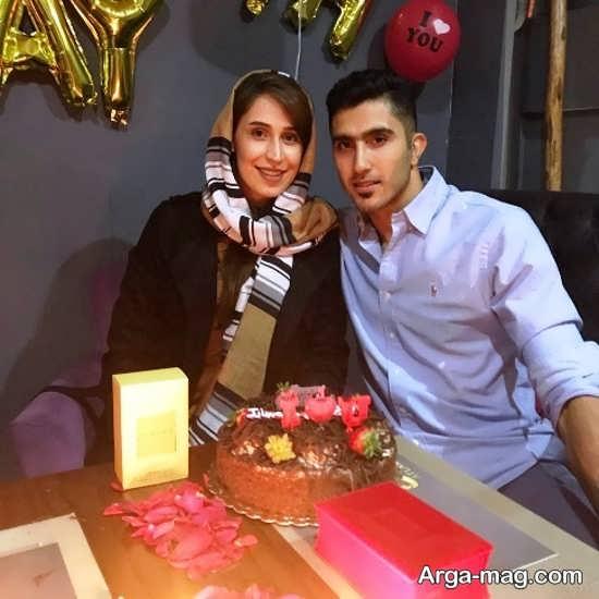 جشن تولد همسر مجتبی میرازجانپور