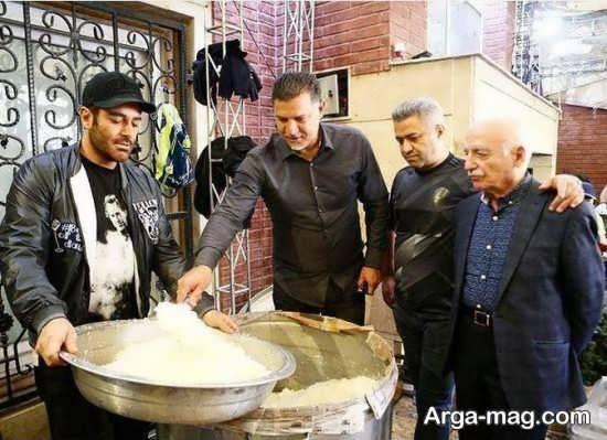 علی دایی و محمدرضا گلزار